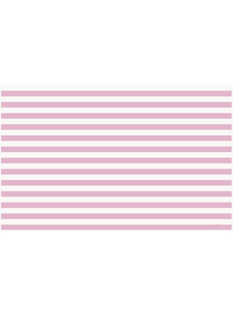 Set de 1º cumpleaños rosa y blanco - para niños y adultos