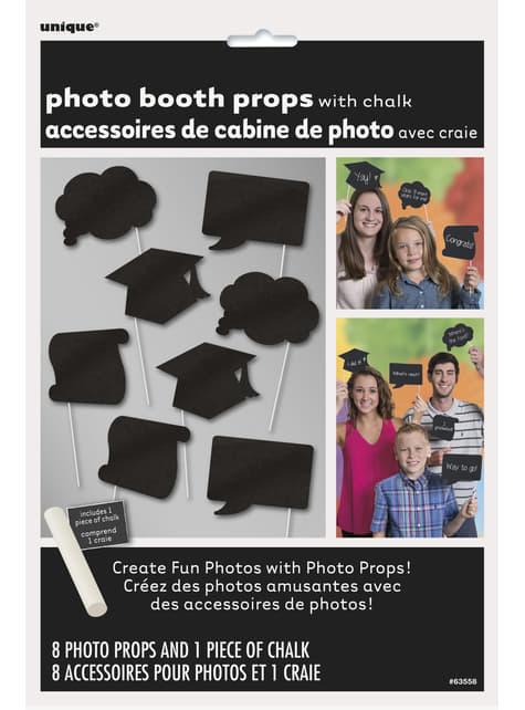 10 accesorios photocall para graduación - para niños y adultos