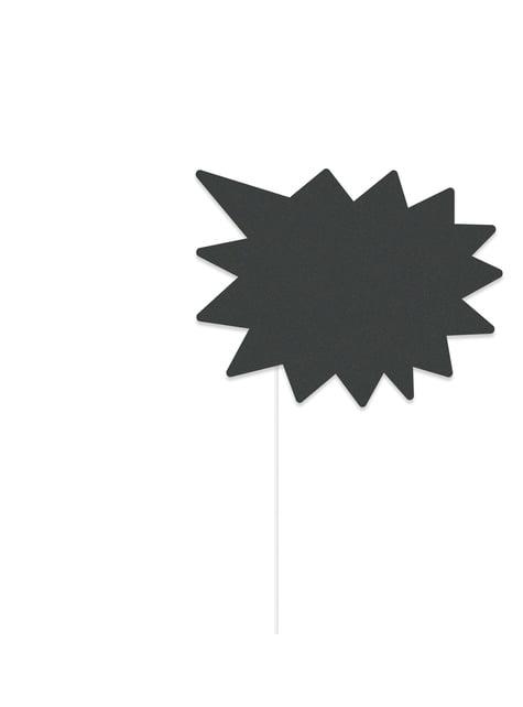 10 accesorios photocall - Grafito