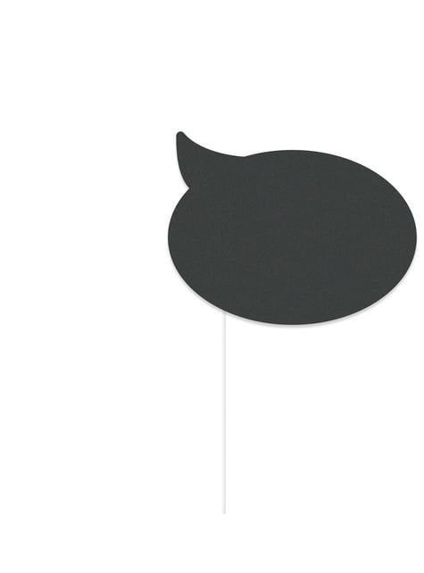 10 photocall props - Graphite