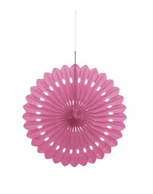 Розов декоративни вентилатор - Основна линия на цветовете