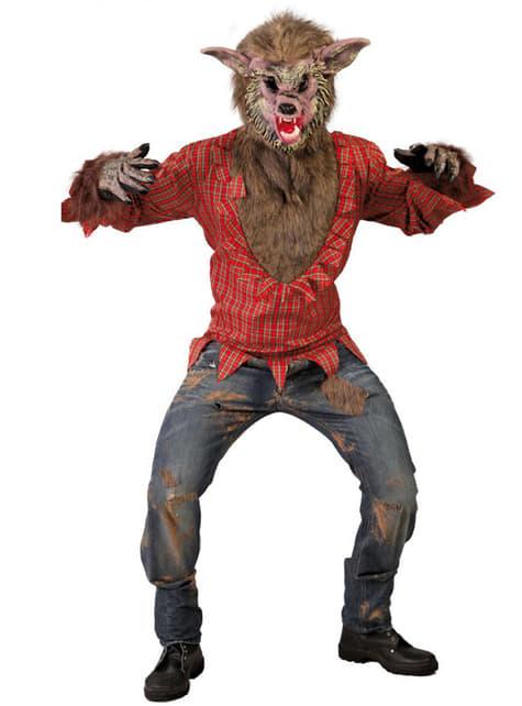 Wild Wolf Man Costume