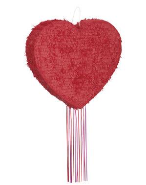 Sydämen muotoinen piñata