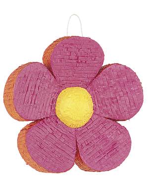 Цветен пинята с цветя