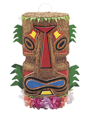 Piñata tótem hawaiano