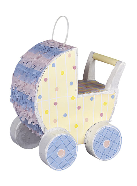 Pinata poussette de bébé - Baby Carriage Decorator