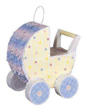 Baby carriage piñata - Dekorator Kereta Bayi