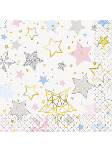 16 servilletas grandes (33x33cm) - Twinkle Little Star