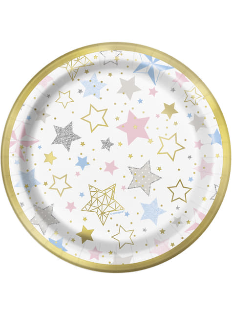 8 platos (18 cm) - Twinkle Little Star