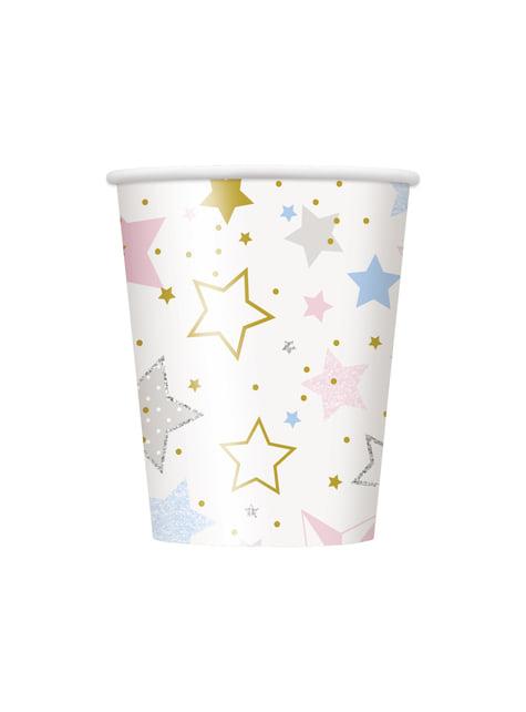 Zestaw 8 kubków - Twinkle Little Star
