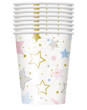 8 copos - Twinkle Little Star