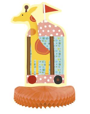 Sæt af 3 bord dekorationer- Circus Animal