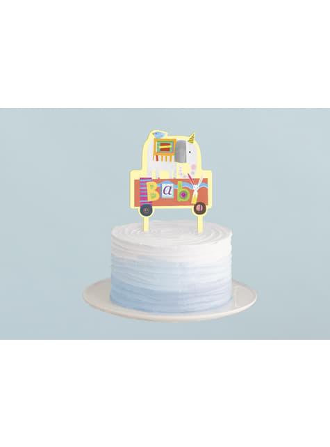 Topper para tarta - Circus Animal - para tus fiestas