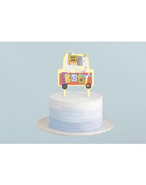 Décoration pour gâteau - Circus Animal