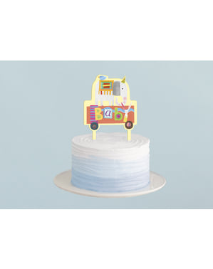 Topper para tarta - Circus Animal
