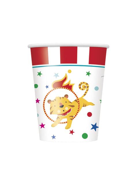 8 vasos - Circus Carnival