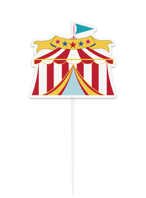 Decoración para tarta - Circus Carnival