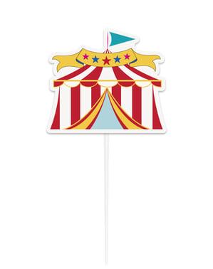 Decorazione per torta - Circus Carnival