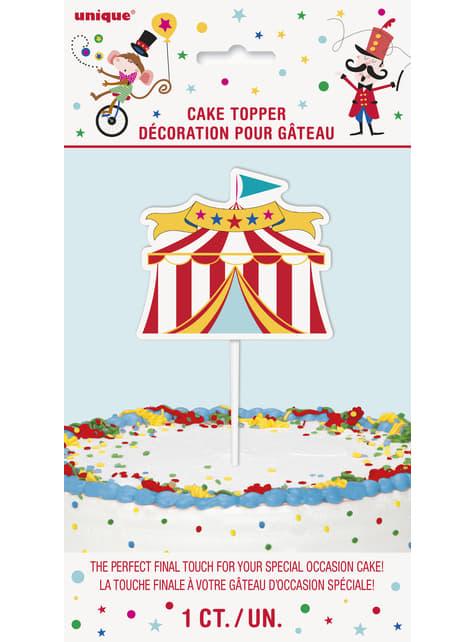 Decoración para tarta - Circus Carnival - para tus fiestas