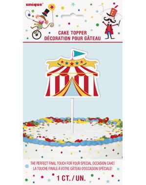 Dekorace na dort - Circus Carnival