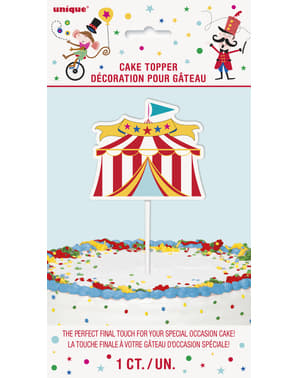 Kage dekoration - Circus Carnival
