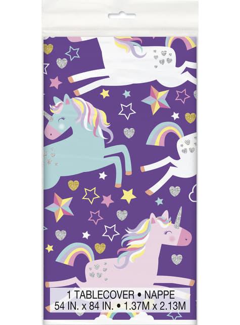 Toalha de mesa de Unicórnio Feliz - Unicorn