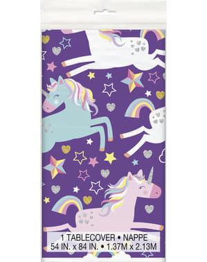Blij eenhoorn tafelkleed - Unicorn