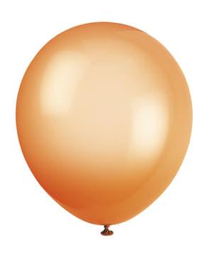 10 balões cores néon variado (25,4 cm) - Linha Cores Básicas