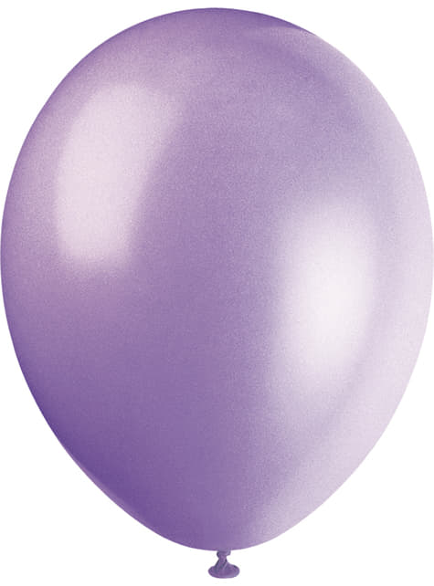 10 globos colores pastel variados (30 cm) - Línea Colores Básicos - comprar