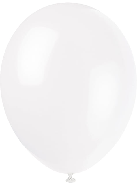 10 globos colores pastel variados (30 cm) - Línea Colores Básicos - original