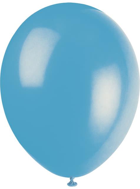 10 globos colores pastel variados (30 cm) - Línea Colores Básicos - celebra cualquier ocasión