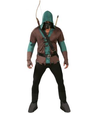 Bogenschütze Kostüm Green Arrow Imitat