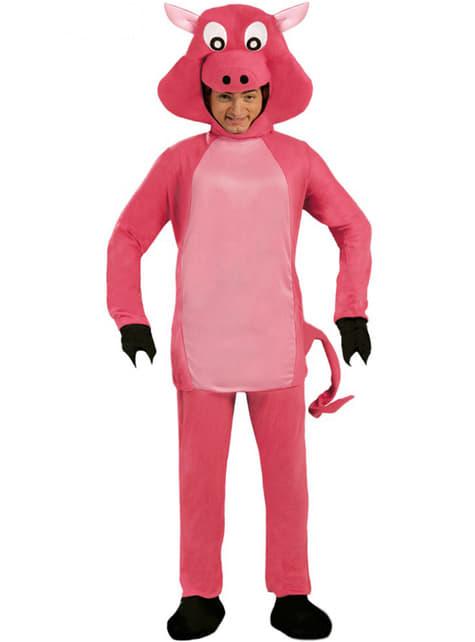 豚コスチューム、ピンク
