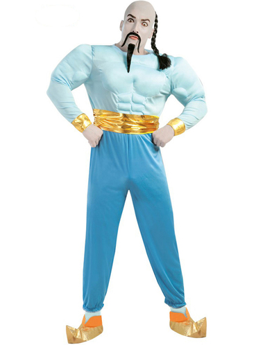 sc 1 st  Funidelia & Genie Costume Blue: buy online at Funidelia.