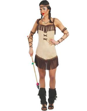 Verleidelijke indiaan kostuum