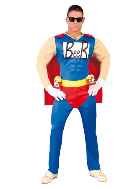 Kostium piwowy super bohater