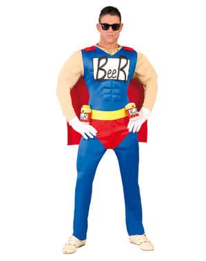 Øl Superhelt kostume