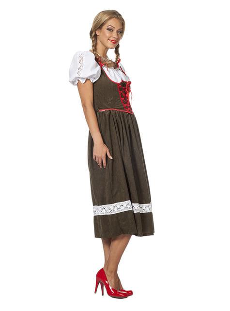 Itävaltalaisnaisen Oktoberfest-asu naisille