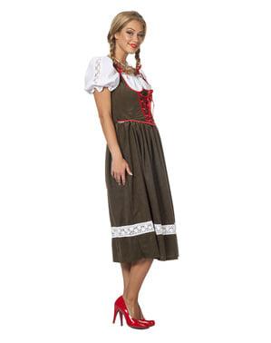 Oktoberfest Dirndl lang voor vrouw