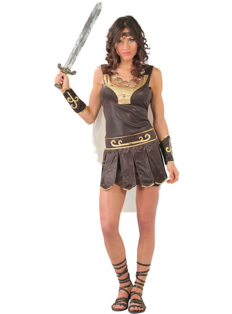 Elegant Romersk Dame Kostyme