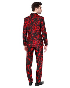 Traje Halloween Black Blood Suitmeister para hombre