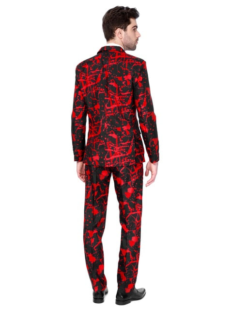 Traje Halloween Black Blood Suitmeister para hombre - hombre