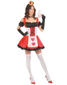 Königin der Karten Kostüm