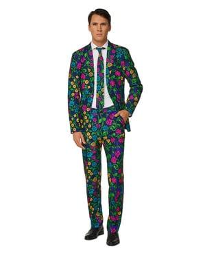 Blumen Print Anzug - Suitmeister