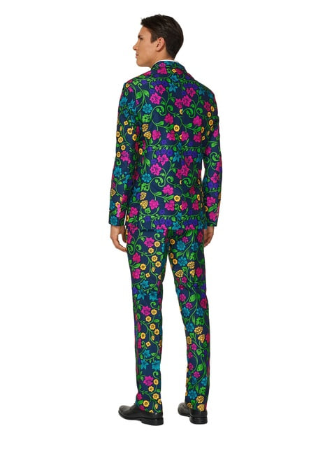 Fato Floral Suitmeister para homem