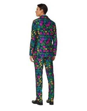 Pánský oblek květinový