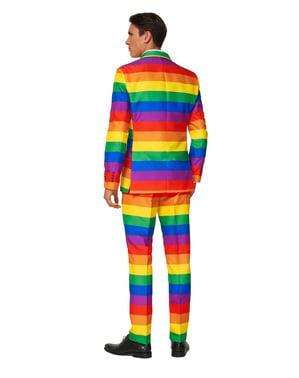 Tęczowy strój Suitmeister dla mężczyzn