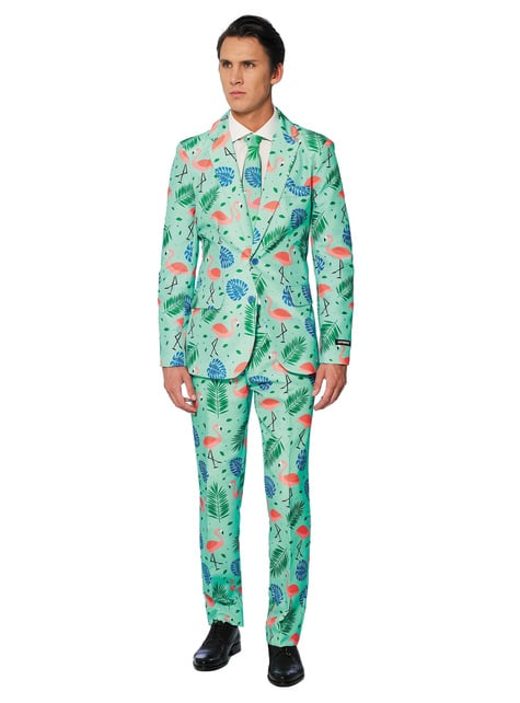 Costume Flamant Rose Tropical - Suitmeister