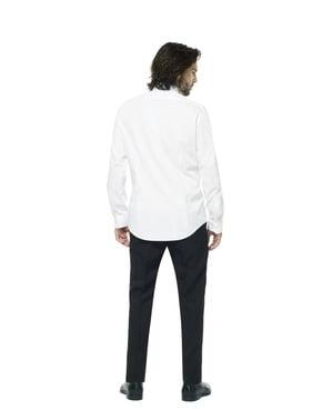 Бяла рицарска риза за мъже