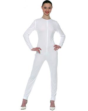 Camicia da donna adulta bianca